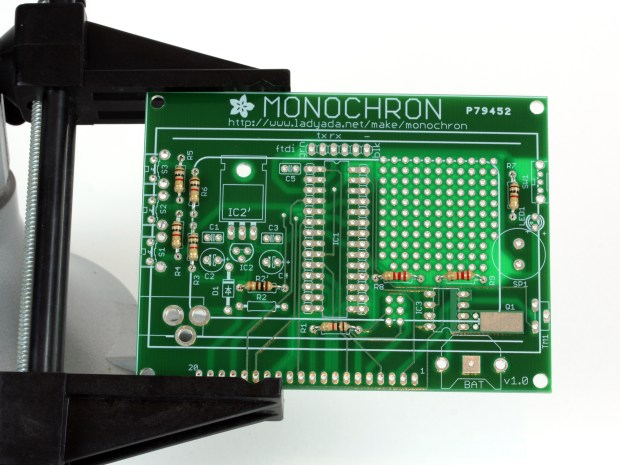 Build a Monochron Clock Kit