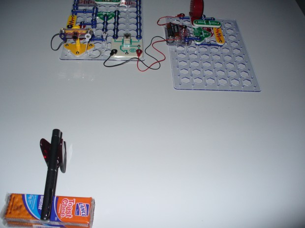 Laser Tripwire and Alarm Using Snap Circuits