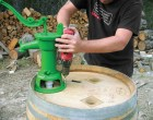 Barrel Water Collector