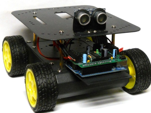 Build your own Arduino-Controlled Robot!