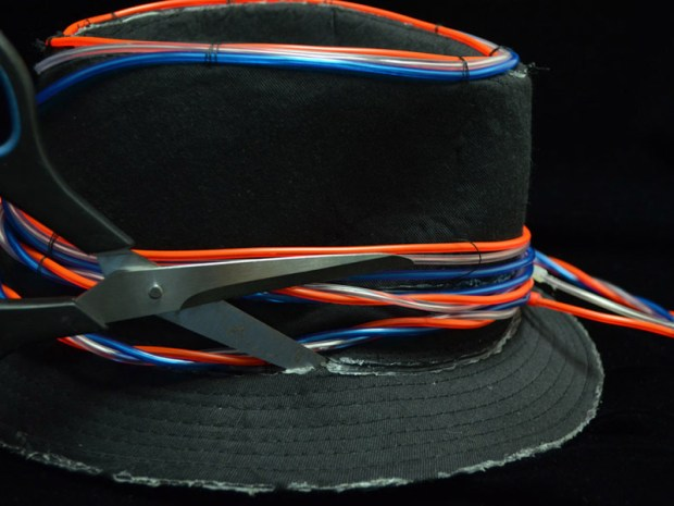 EZ-EL Wire 4th of JulyHat