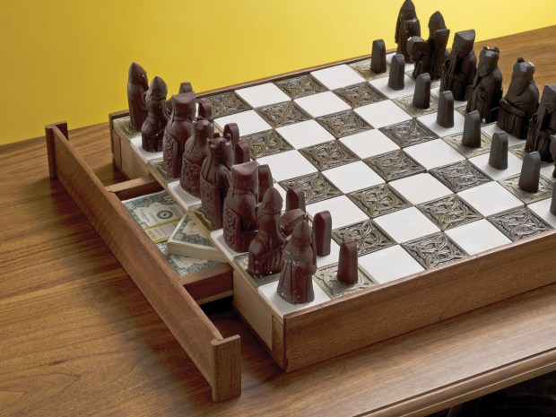 Secret Chessboard Compartment