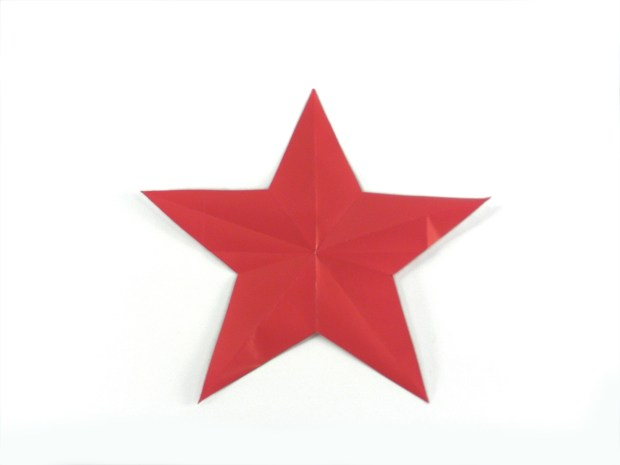 Golden Star Origami
