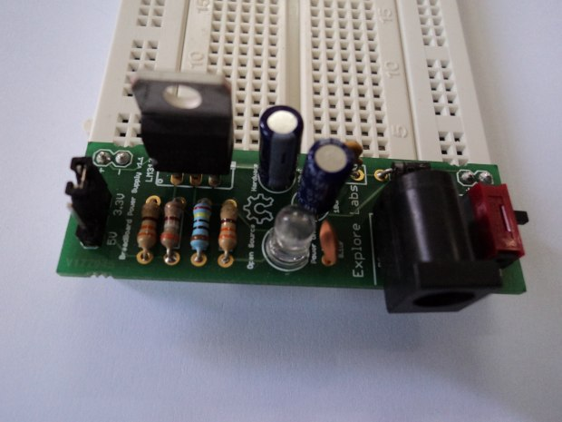 Making a BreadBoard Power Supply