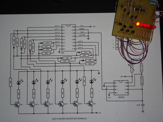 LED Shift Register