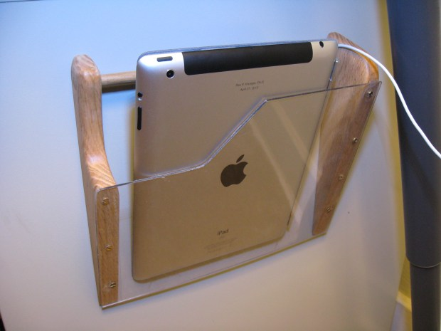 Magnetic iPad Holster
