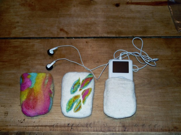Felted iPod&nbsp;Cozy