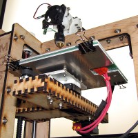 The MakerGear Mosaic 3D Printer  – Part VI: The Build Platform