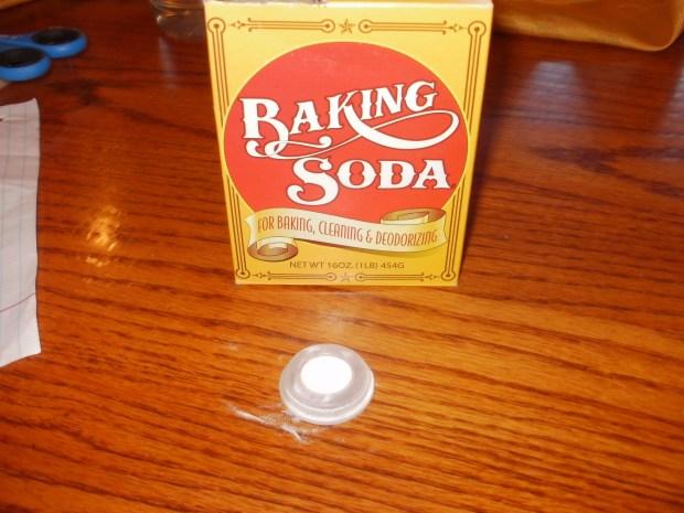 Vinegar and Baking SodaRocket
