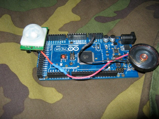 Arduino Mega PIR&nbsp;Alarm
