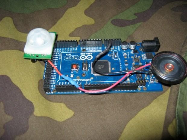 Arduino Mega PIRAlarm