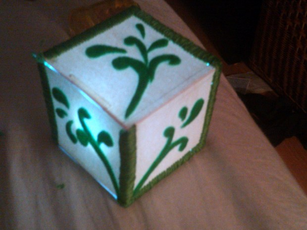 LED Night-Light Cube
