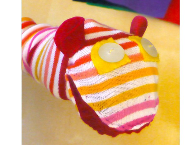 'Talking' Sock Puppet