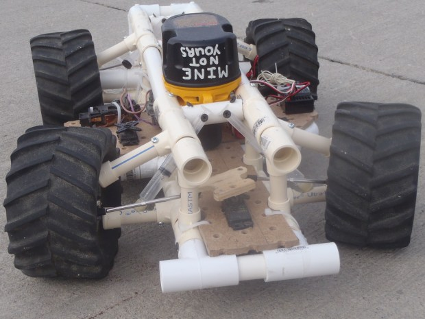 Scratch-Built RC Car