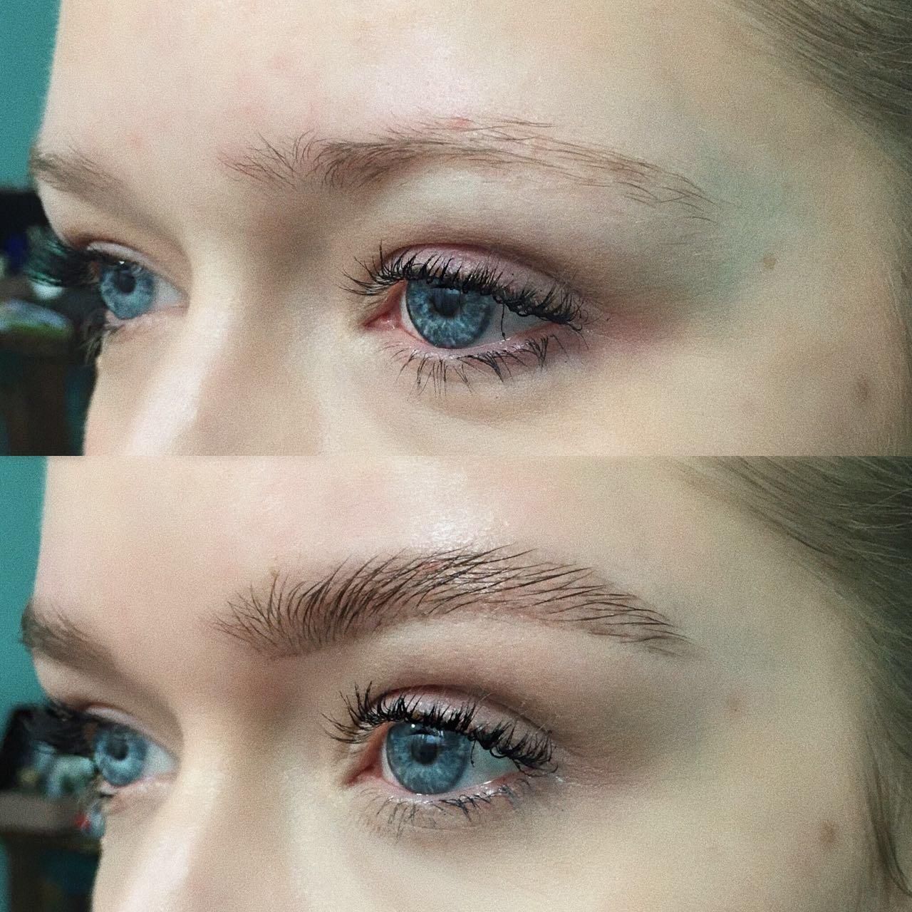 Hochzeit Make Up Blaue Augen