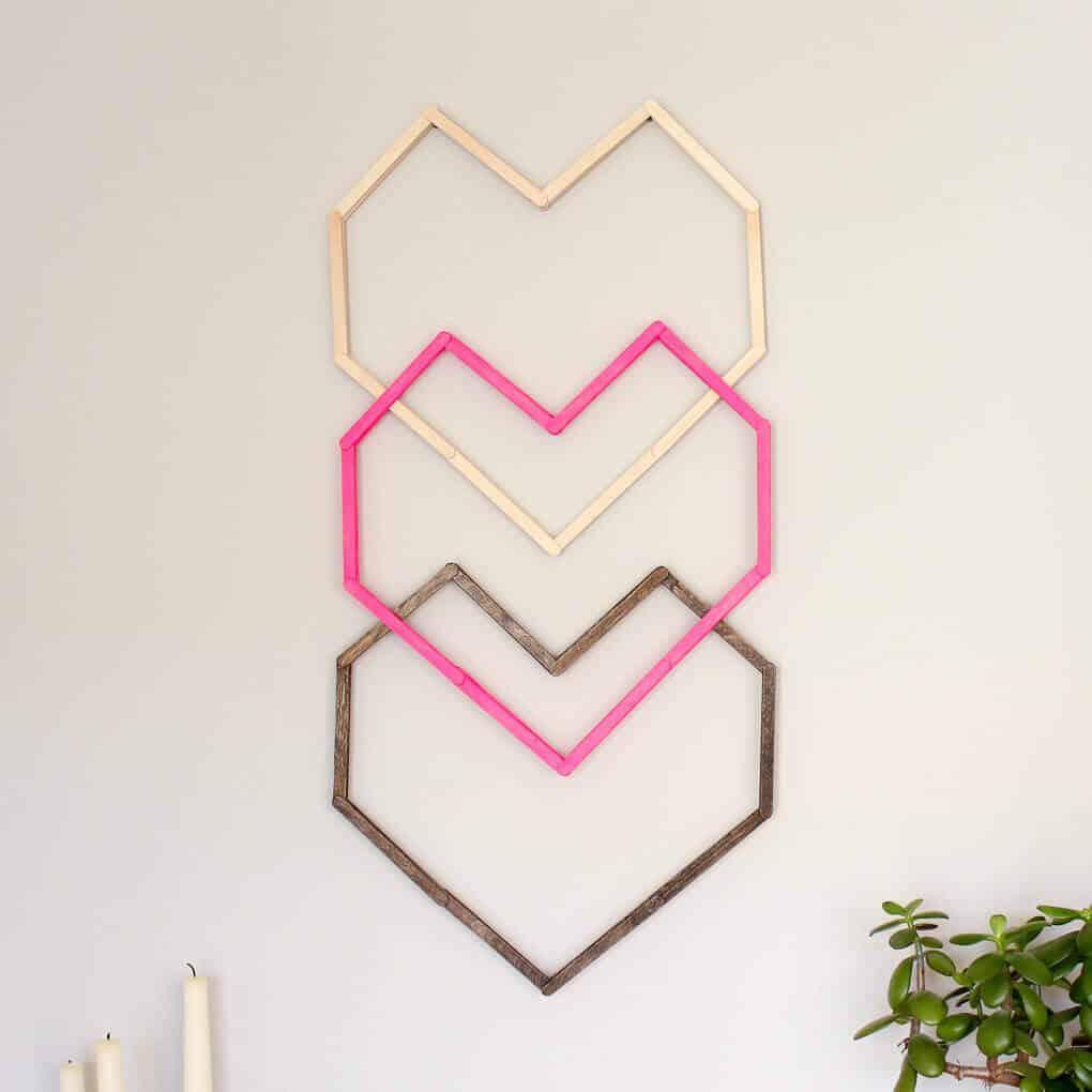 Hd Wallpaper Little Girls Wedding Popsicle Stick Hexagon Shelf Easy Diy Wall Art
