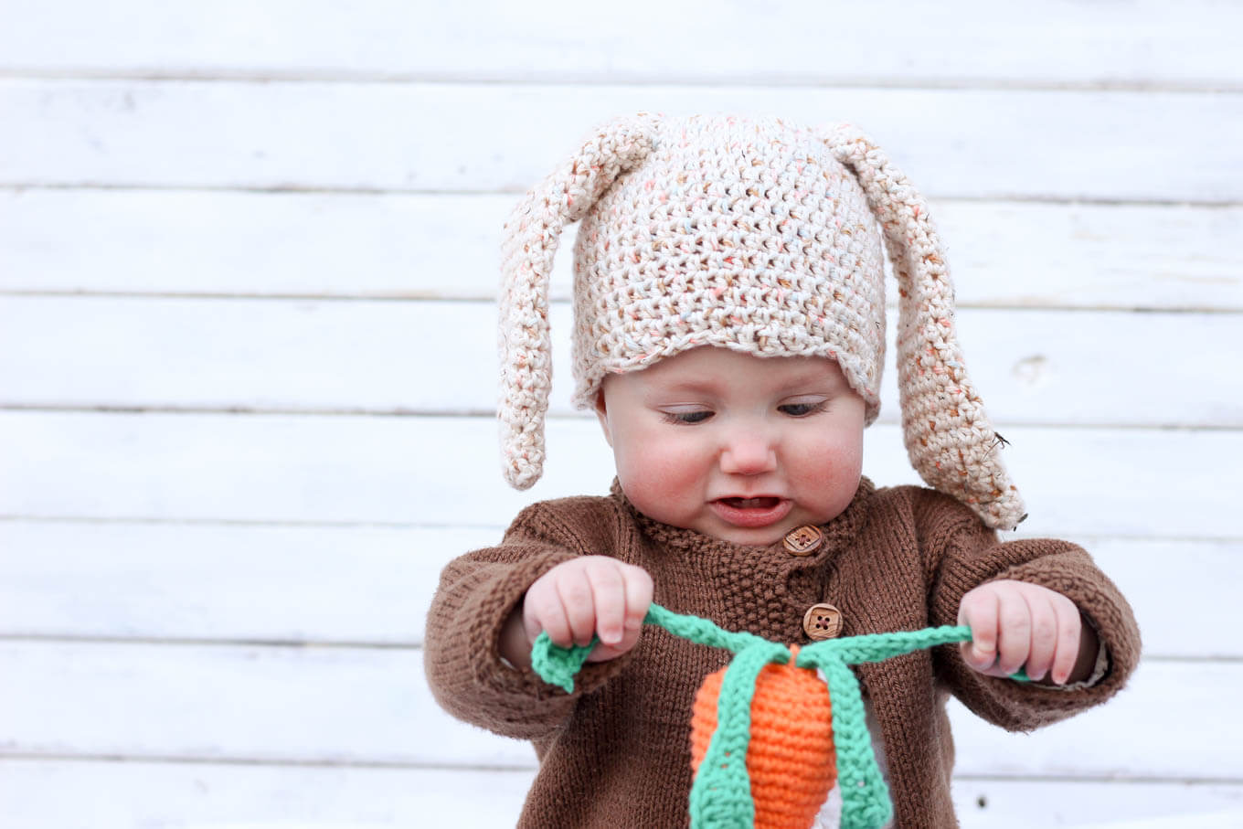 Free Crochet Baby Toy Pattern An Amigurumi Carrot Rattle