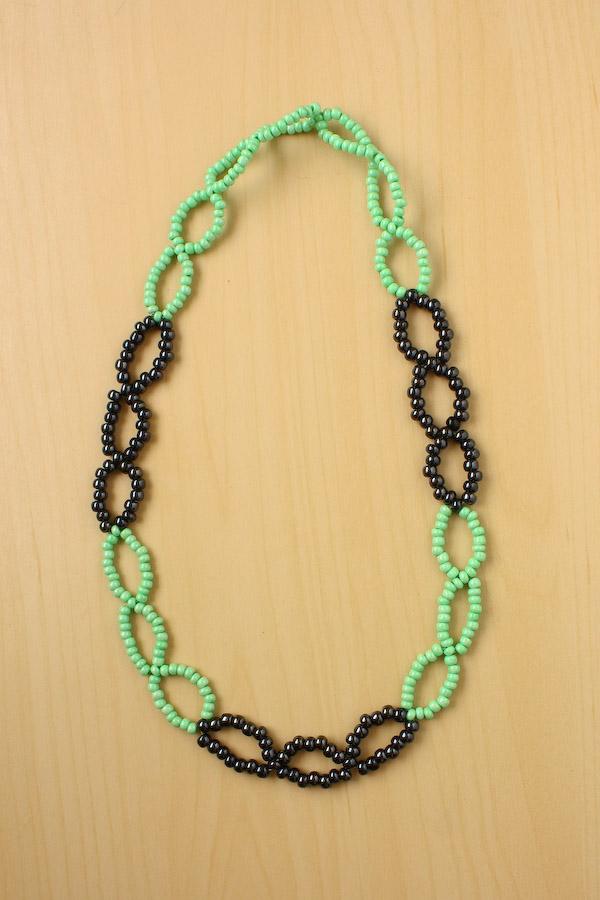Seed beads bracelet tutorial