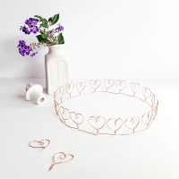 Make + party | Wire heart crown