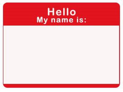 sample name badge - Romeolandinez - name badge templates