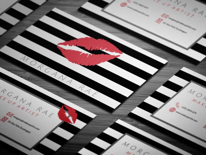 Free Lipsense Business Card Template - lipsense business card