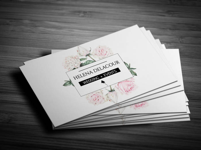 Free Event Planner Business Card