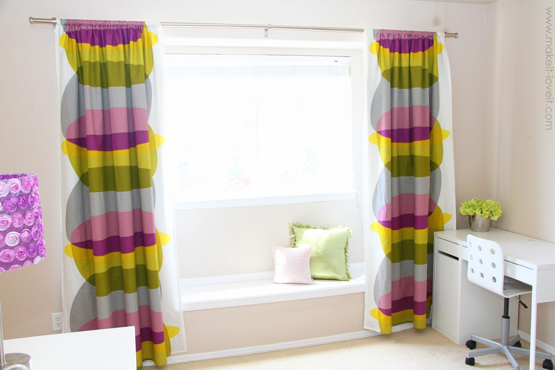 How Many Yards Of Fabric For Curtains Make Your Curtains Blackout Curtains Simplified Version Make