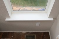 Home Improvement: Trimming a Window (replacing the sill