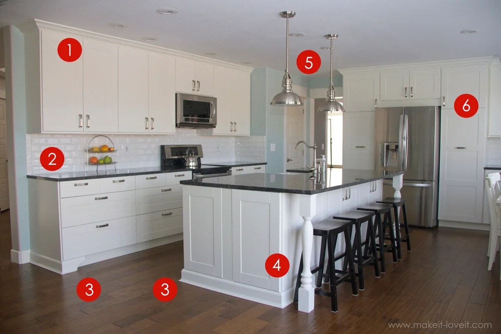 Adding Trim To Kitchen Island Home Improvement: Adding Column Supports To Counter