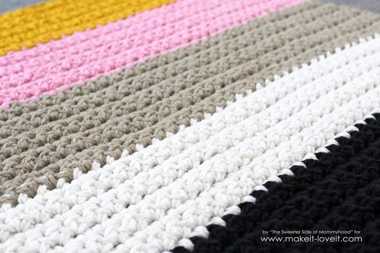 How To Easily Crochet A Super Think Chunky Blanket