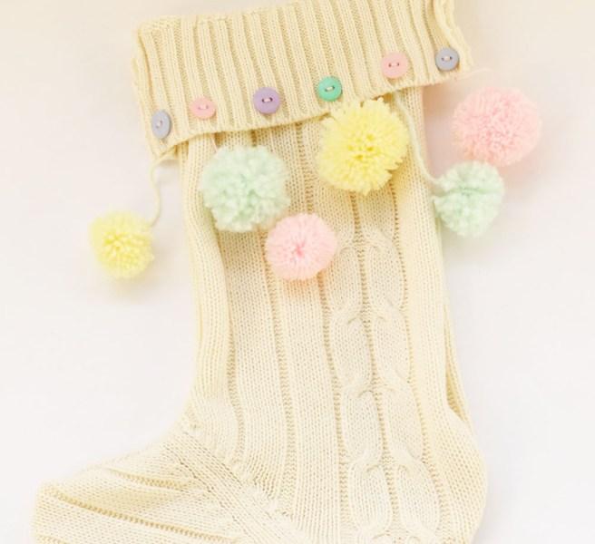 No-Knit Christmas Stocking Tutorial
