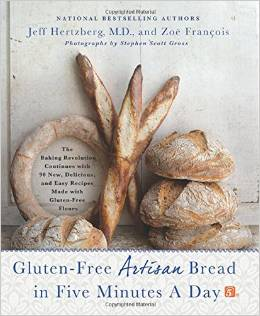 Gluten-Free Artisan Bread in Five Minutes a Day - Amazon