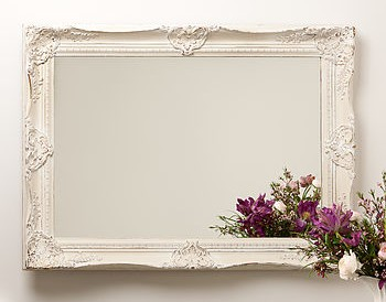 Ornate Hand Painted French Mirror - Not On The High Street