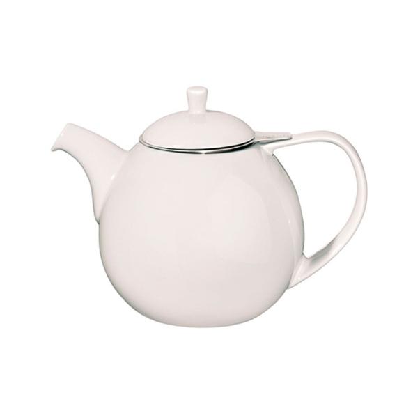 White Curve Teapot - Whittard of Chelsea