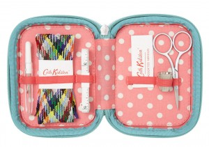 kingswood rose travel sewing kit - cath kidston