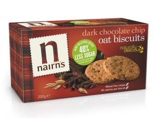 Nairn's Oat Biscuits, Dark Chocolate Chip - Waitrose