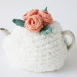 Vintage Flower Tea Cosy Knitting Pattern