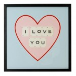 Win a Vintage Playing Cards 'I Love You' Frame Worth £74.99 from Mollie & Fred!