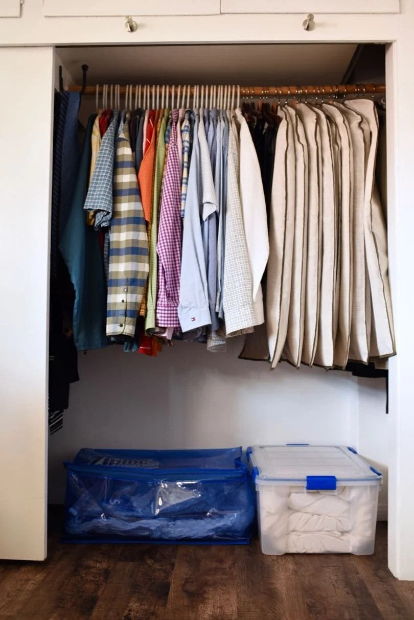 Closet Organization Small Closet Organization Trick Make Life Lovely