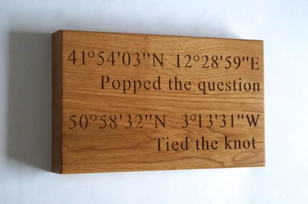 Wooden Wedding Anniversary Gift Ideas Eskayalitim