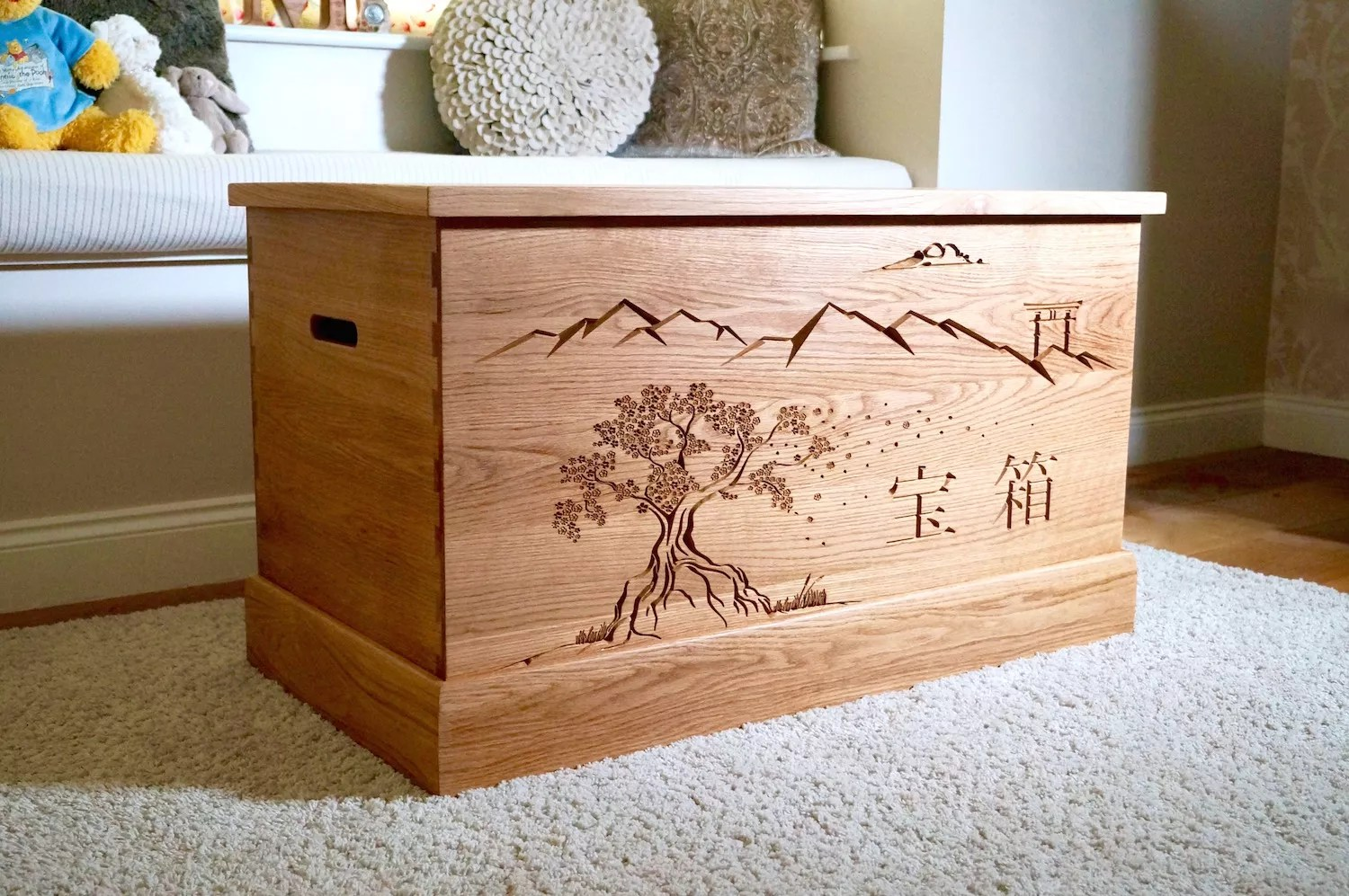 Toy Chests Bespoke Toy Boxes Makemesomethingspecial