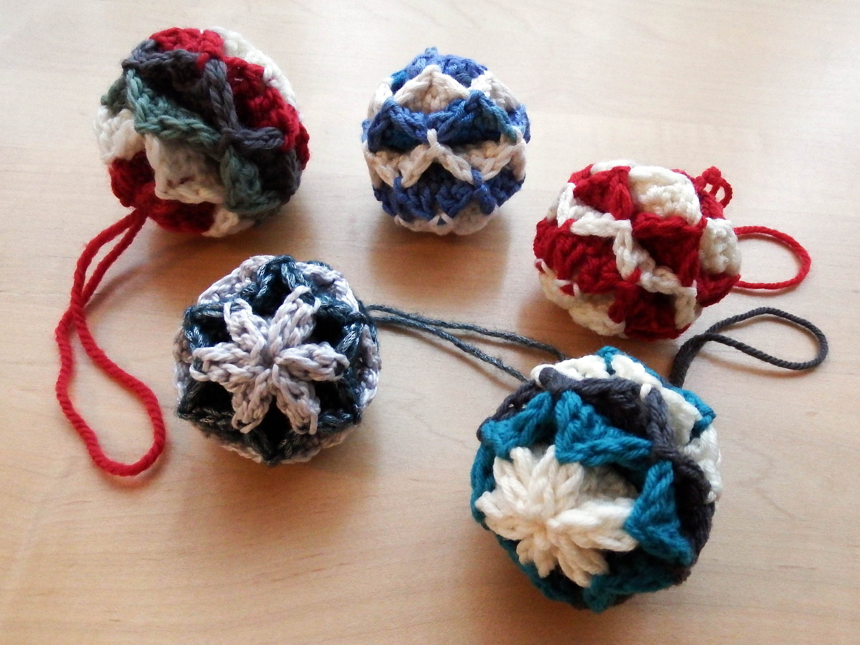 Simple Origami Christmas Baubles Make My Day Creative