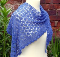 Mediterranean Lace Shawl | Make My Day Creative