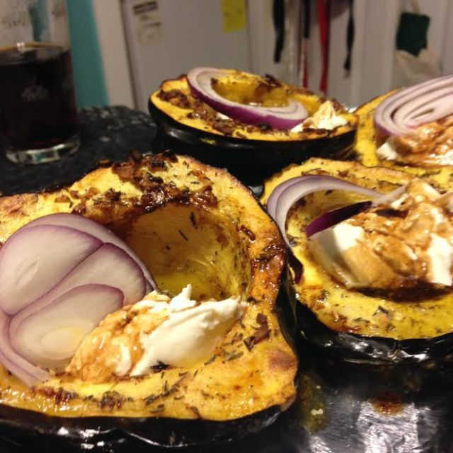 acorn-squash-with-burrata