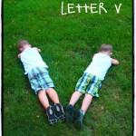 letter 'v'