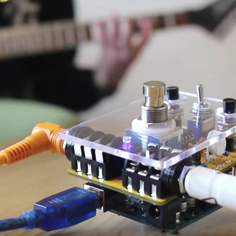 Led Lighting Effects On Health How To Make A Programmable Guitar Pedal With Arduino