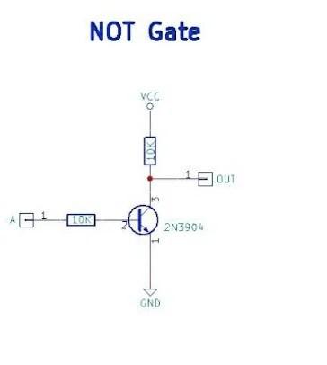 How to Make Resistor-Transistor Logic Gates Custom Maker Pro