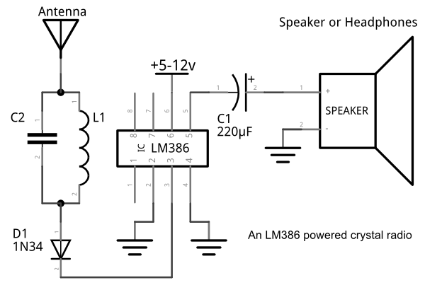 lm386 amplifiers