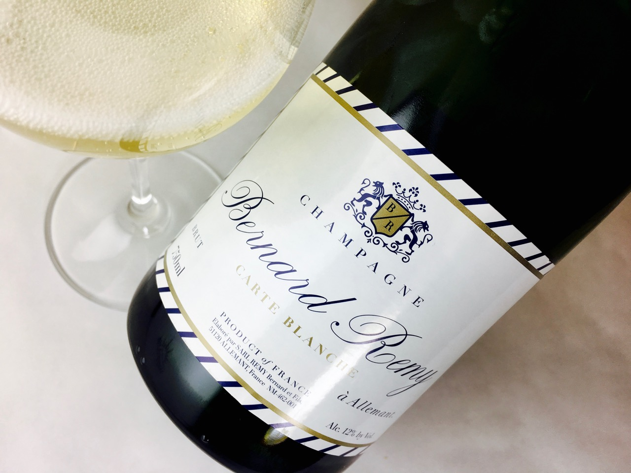 Carte Blanche French Nv Bernard Remy Carte Blanche Brut Champagne Terroir Review