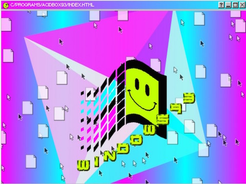 WINDOWS 93 ONLINE SUL WEB VERSIONE SURREALE E SCHERZOSA DI UNA VERSIONE DI WIN MAI ESISTITA